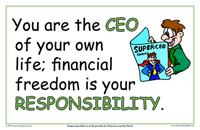 you are the CEO of your own life.