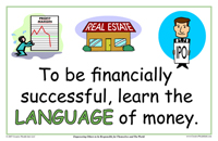 learn the language of money