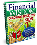 Financial Wisdom Coloring Books for Kids