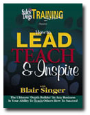 Lead Teach and Inspire